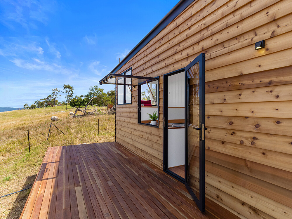 Tiny Homes with Solar plus Battery Storage